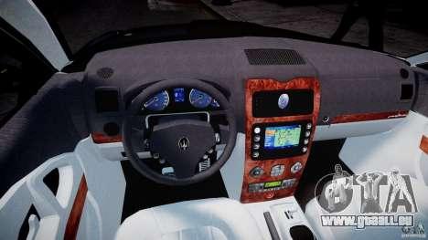 Maserati Quattroporte V für GTA 4 Rückansicht