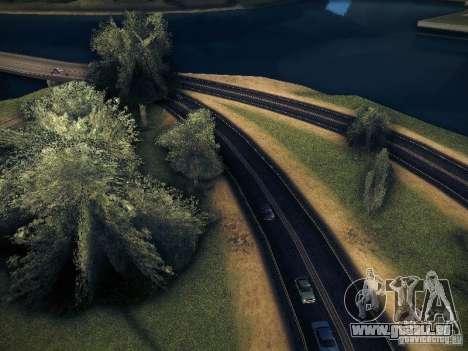 Erhöhte Zeichnung Maschinen und pedov für GTA San Andreas zweiten Screenshot