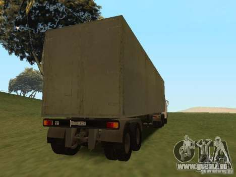 NefAZ 93344 trailer für GTA San Andreas Rückansicht