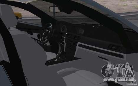 BMW X6M 2013 pour GTA San Andreas vue arrière