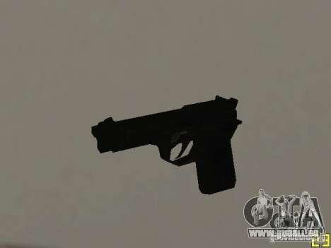 Armes de la COD MW 2 pour GTA San Andreas troisième écran