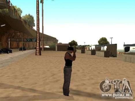 Marché sur la plage pour GTA San Andreas dixième écran