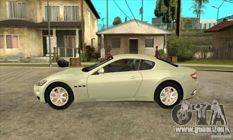 Maserati Gran Turismo 2008 für GTA San Andreas linke Ansicht