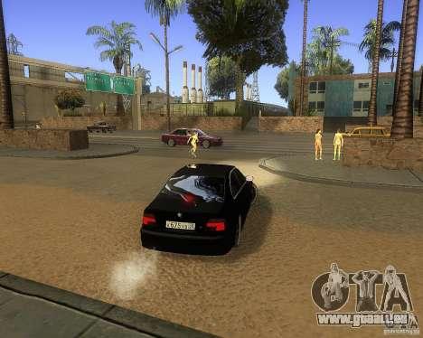 BMW 525i e39 pour GTA San Andreas vue de droite