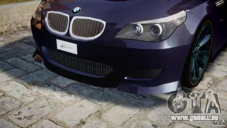 BMW M5 Lumma Tuning [BETA] pour GTA 4 Salon