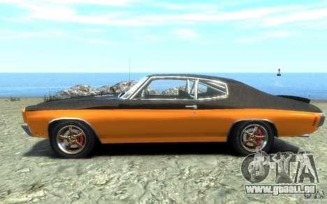 Chevrolet Chevelle SS 1970 für GTA 4 linke Ansicht