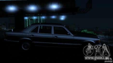 Mercedes Benz 560SEL w126 1990 v1.0 für GTA San Andreas Seitenansicht