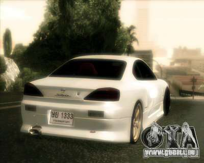 Nissan Silvia pour GTA San Andreas vue de côté