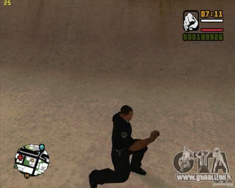 39 Animationen von dem Spiel Assassins Creed für GTA San Andreas her Screenshot