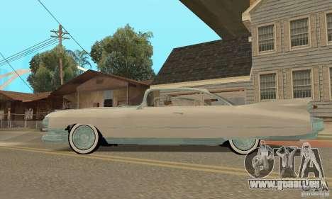 Cadillac 1959 pour GTA San Andreas vue de droite