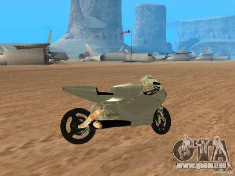 Turbine Superbike pour GTA San Andreas vue de droite