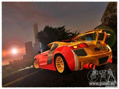Audi R8 Calibri-Ace für GTA San Andreas linke Ansicht