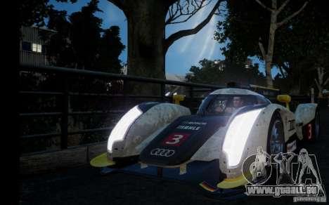 Audi R18 TDI 2011 für GTA 4 hinten links Ansicht