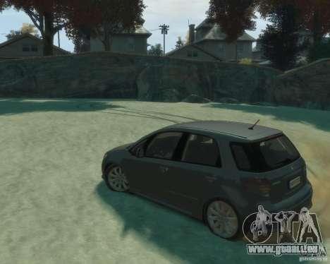 Suzuki SX4 Sport Back pour GTA 4 est une gauche