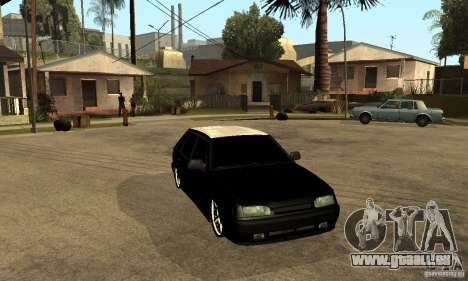 Lada ВАЗ 2114 LT pour GTA San Andreas vue arrière