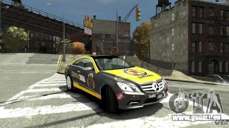 Mercedes-Benz E 500 Coupe V2 pour GTA 4 est un droit