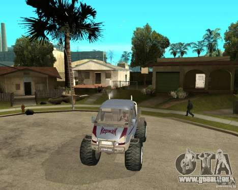 GAS KeržaK (Swamp Buggy) für GTA San Andreas Rückansicht