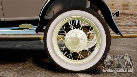 Ford Model T 1927 für GTA 4 rechte Ansicht