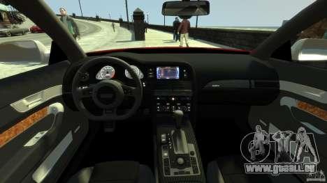 Audi RS6 Avant 2010 Carbon Edition für GTA 4 rechte Ansicht