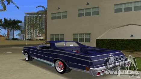 Chevrolet El Camino Idaho für GTA Vice City linke Ansicht