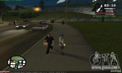Weapons for pedestrian für GTA San Andreas