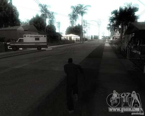 GTA SA - Black and White für GTA San Andreas dritten Screenshot