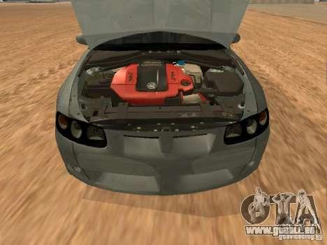 Vauxhall Monaro für GTA San Andreas rechten Ansicht