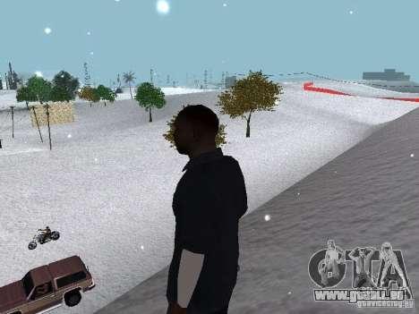 Snow MOD 2012-2013 für GTA San Andreas neunten Screenshot