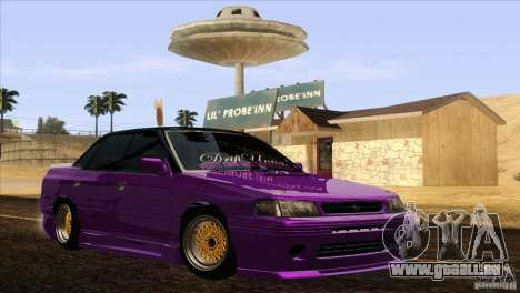 Subaru Legacy Drift Union für GTA San Andreas rechten Ansicht