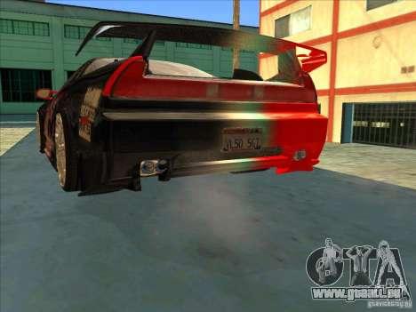 Acura NSX 1991 Tunable pour GTA San Andreas salon