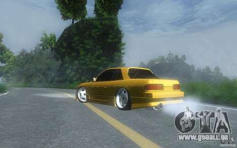 Nissan Silvia S13 Clean Edition pour GTA San Andreas sur la vue arrière gauche