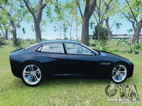 Lamborghini Estoque pour GTA 4 est un droit