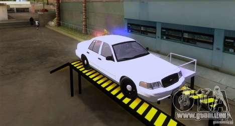 Ford Crown Victoria 2009 Detective für GTA San Andreas