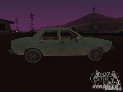 Machine de CoD: MW pour GTA San Andreas vue de droite