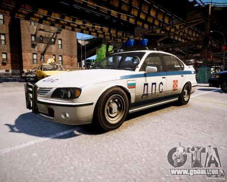 Russian Police Patrol pour GTA 4