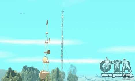 Base of CJ mod pour GTA San Andreas troisième écran