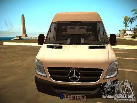 Mercedes Benz Sprinter 311 CDi für GTA San Andreas rechten Ansicht