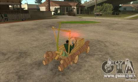 New Police Madagascar pour GTA San Andreas vue de droite