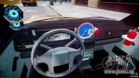Volkswagen Golf MK2 Tuning pour GTA 4 Vue arrière