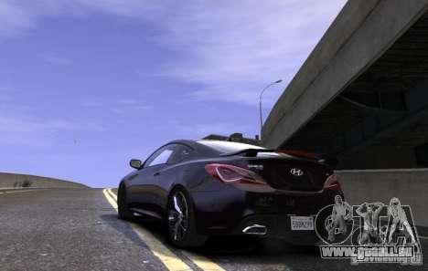 Hyundai Genesis Coupe 2013 pour GTA 4 est une gauche