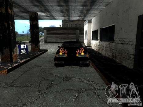 Rèjzora de vinyle de Most Wanted pour GTA San Andreas vue arrière