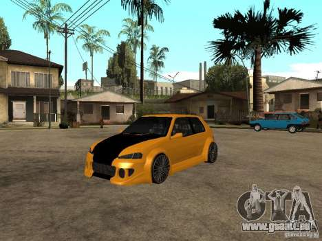 Peugeot 106 Tuning pour GTA San Andreas