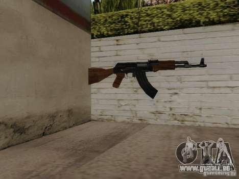 AK-47 von Saints Row 2 für GTA San Andreas