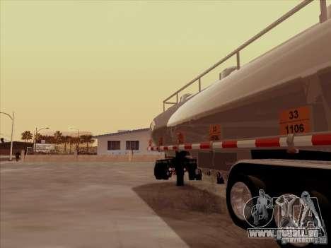 Anhänger Kenworth T2000 für GTA San Andreas rechten Ansicht