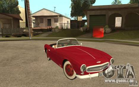 ISW 508 from MAFIA 2 pour GTA San Andreas vue arrière