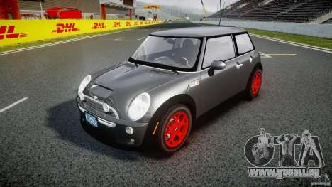 Mini Cooper S für GTA 4 Rückansicht