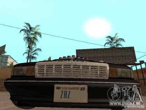 Chevrolet Caprice 1991 LSPD pour GTA San Andreas vue arrière