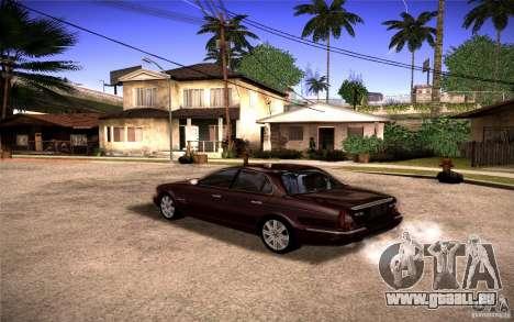 Jaguar Xj8 pour GTA San Andreas laissé vue