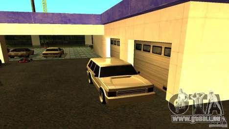 Huntley Sport pour GTA San Andreas