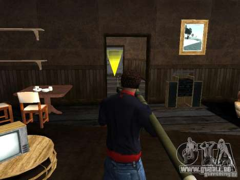 MANPADS Nadel 2 für GTA San Andreas her Screenshot